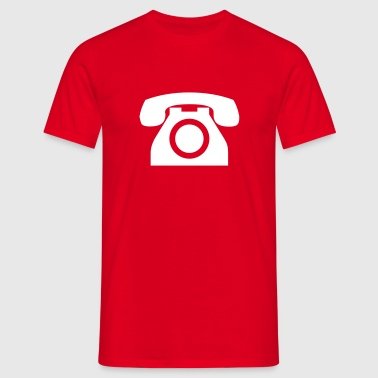 Telephone - Men's T-Shirt