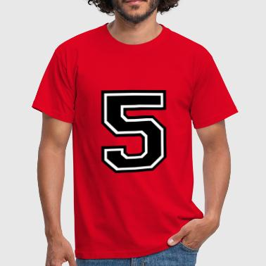 Number 5 Five - Men's T-Shirt