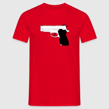 Pistool - Mannen T-shirt