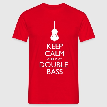 Play Double Bass - Männer T-Shirt