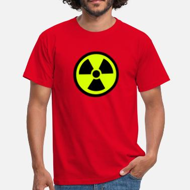 Radiation Radiation Warning - Men's T-Shirt