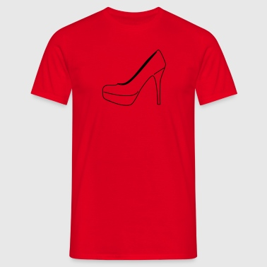 high_heels - Mannen T-shirt