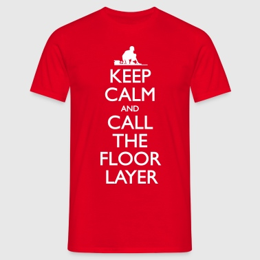 Call The Floor Layer - Männer T-Shirt