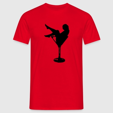 Striptease - Männer T-Shirt