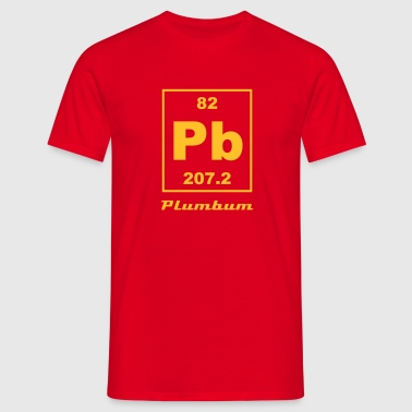 Element 82 - pb (plumbum) - Small - Camiseta hombre
