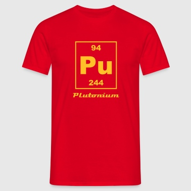 Element 94 - pu (plutonium) - Small - Mannen T-shirt