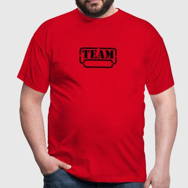 name your team - Männer T-Shirt