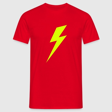 Lightning Bolt VECTOR - Men's T-Shirt