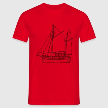 sailing boat - Men's T-Shirt
