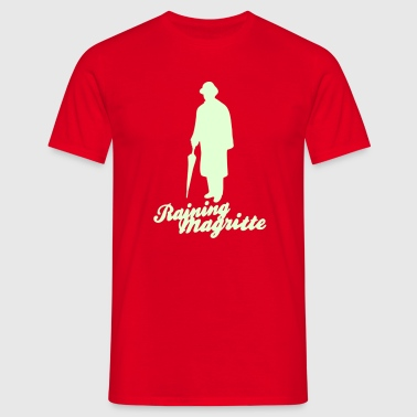 magritte_silhouette_a_2c - T-shirt Homme