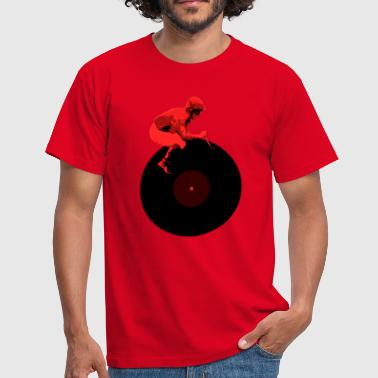 Disc Jockey DJ cool T-Shirt - Männer T-Shirt