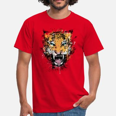 Tiger Style Dirty Tiger Rage - Men's T-Shirt