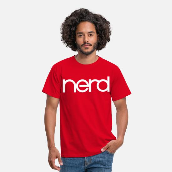 Iron T-Shirts - Electro Nerd - Men's T-Shirt red