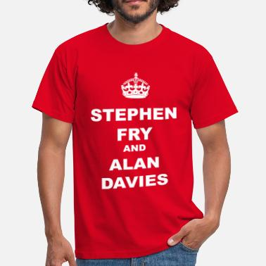 Stephen STEPHEN FRY AND ALAN DAVIES - Men's T-Shirt