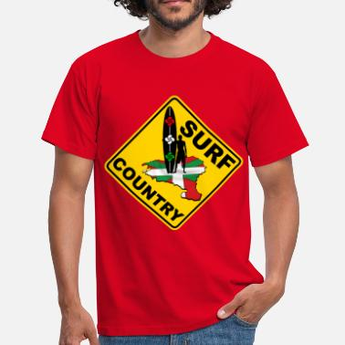 Ikurrina euskadi surf country - Camiseta hombre