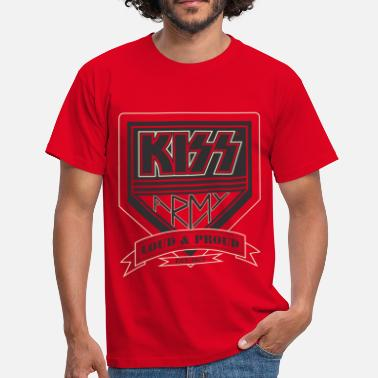 Kiss Kiss Army - Men's T-Shirt