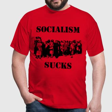 SOCIALISM SUCKS - Männer T-Shirt