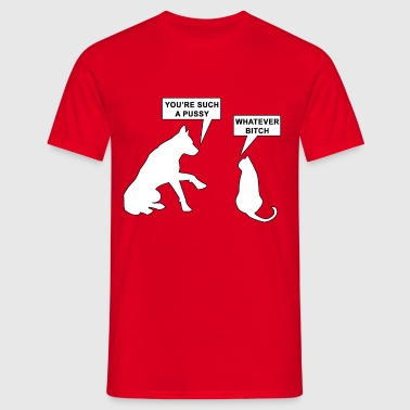 Cats and Dogs - Men's T-Shirt