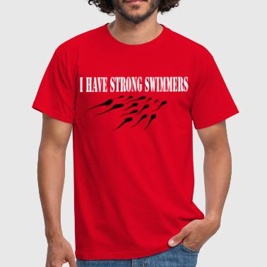 strongswimmers - T-shirt herr