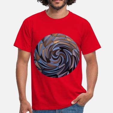 Twisted Shapes Twisted, Shapes Twisted. - Men's T-Shirt