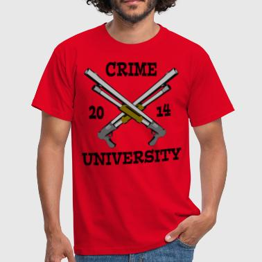 Crime University 2014 - T-shirt Homme