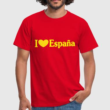 i love España - i ♥ España - Men's T-Shirt