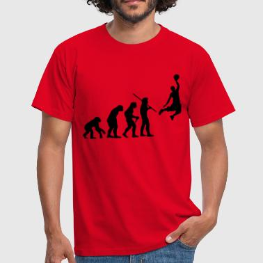 Affe Basketball Evolution Basketball - Männer T-Shirt