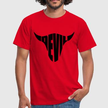 Lucifer Devil Devil Lucifer Satan 666 - Mannen T-shirt