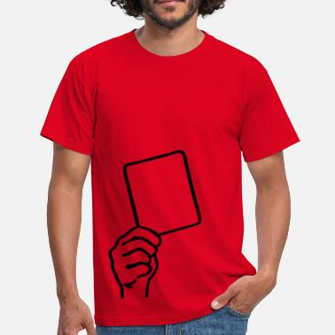 Red Card Soccer - Red card - Men's T-Shirt
