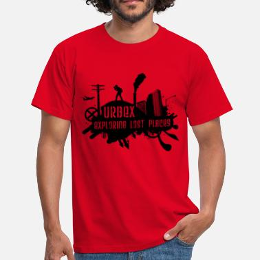 Lost Place Exploring Lost Places Black - Männer T-Shirt
