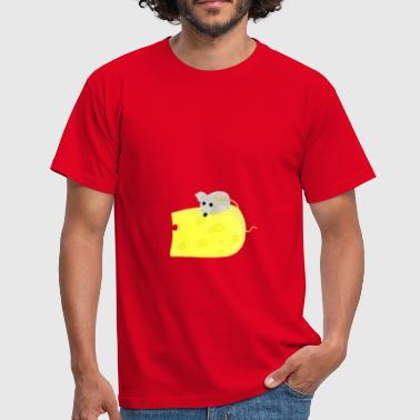 Mouse Cheese Mouse on Cheese / Mouse on Cheese - Men's T-Shirt