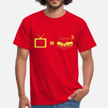 Obese TV = Obesity - Men's T-Shirt