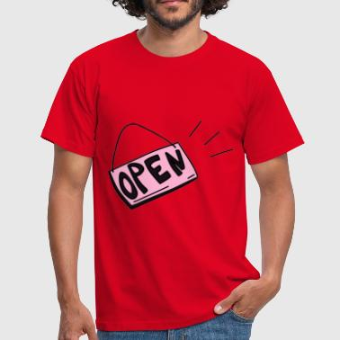 Shield Open - Herre-T-shirt