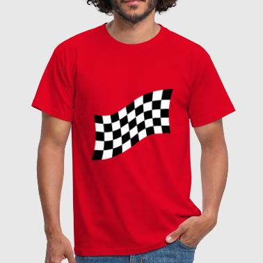 Damier Racing Flag - T-shirt Homme