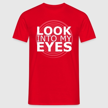 W Look Into My Eyes V Neck - Men's T-Shirt