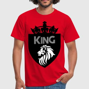 Crusader Kings king - Men's T-Shirt