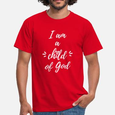 Enfant De Dieu Hommes T Shirts - Mesoffresderemboursement d62bc9a76d6b