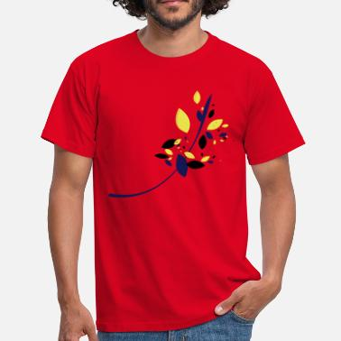 Flow Flower - T-shirt herr