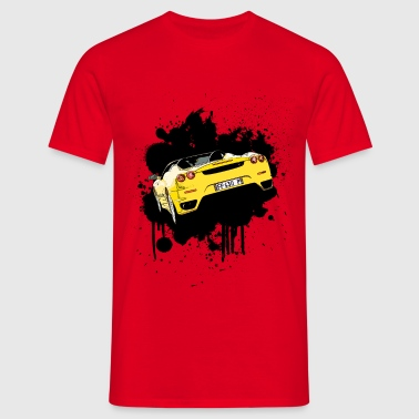 Car Splatter - Men's T-Shirt