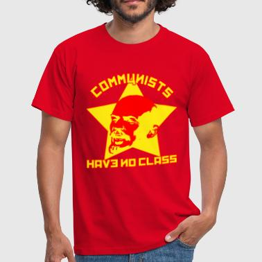 Communists Have No Class - Men's T-Shirt