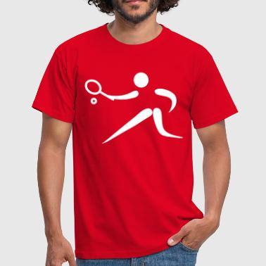tennis os - T-shirt herr
