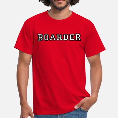 Boards Boarder - Männer T-Shirt