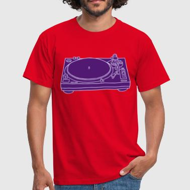 Platine tourne-disques 2 - T-shirt Homme