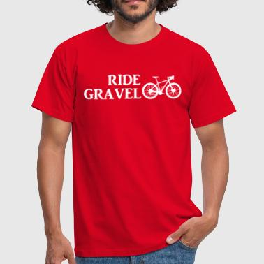 Gravel Ride Gravel - Men's T-Shirt