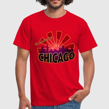 come to great chicago - Männer T-Shirt