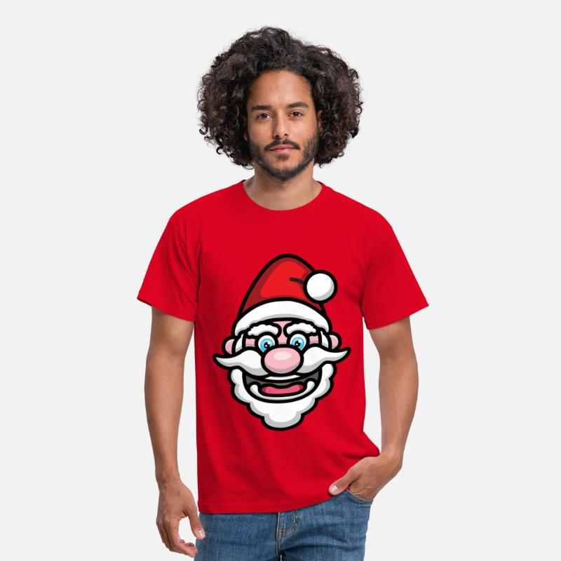 Animal T-Shirts - Santa - Men's T-Shirt red