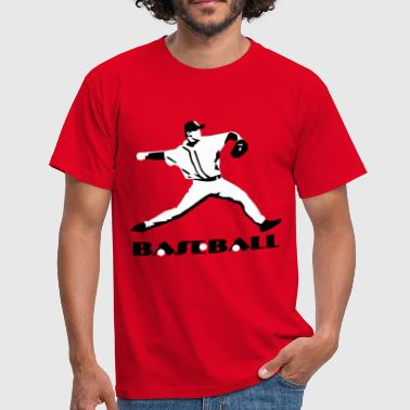 Baseball, Baseball Player - Men's T-Shirt