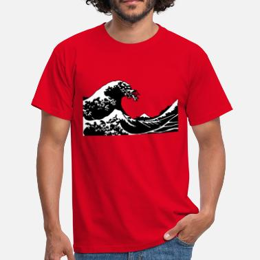 Japanse Golf Wave - Golf - Mannen T-shirt