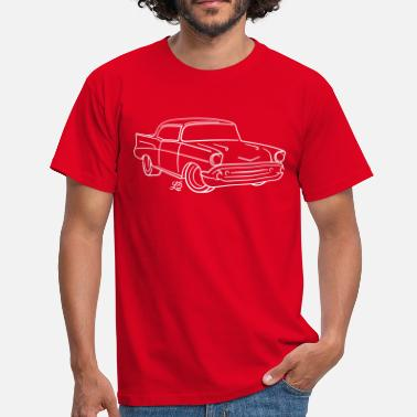 Chevy Chevy Bel Air - Herre-T-shirt