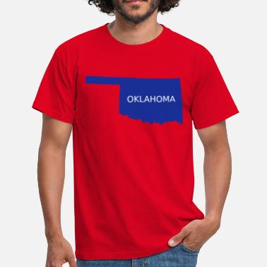 Oklahoma City Oklahoma - Men's T-Shirt